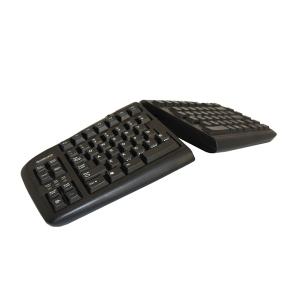 Goldtouch Ergonomische Tastatur Schwarz QWERTZ