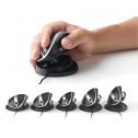 Oyster Mouse Large - ergonomische Maus