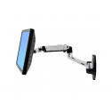 LX Wall Mount Arm Silber - monitorarm