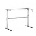 Steh-Sitz-Tisch Pro 1 Manuell - sitz steh schreibtisch