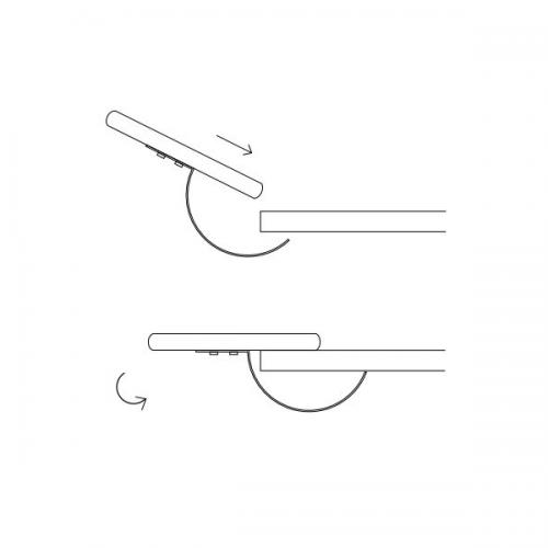 Easy Armauflage Kunstleder - armstütze