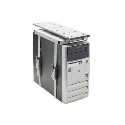 PC Halterung Bundy III Silber - cpu halter