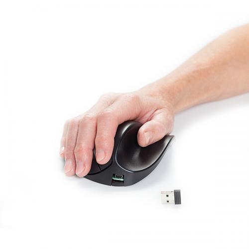 Handshoemouse BlueRay Light Click Wireless Small - ergonomische Maus
