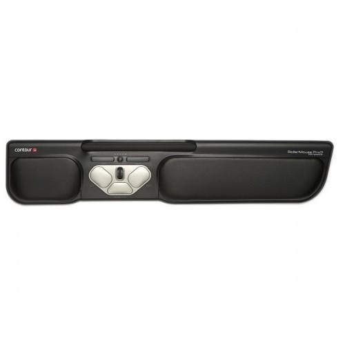 Contour Rollermouse Pro3 Schwarz - ergonomische Maus